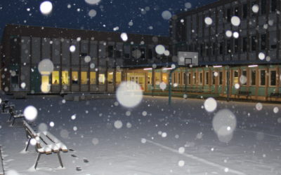 Un mercredi sous la neige
